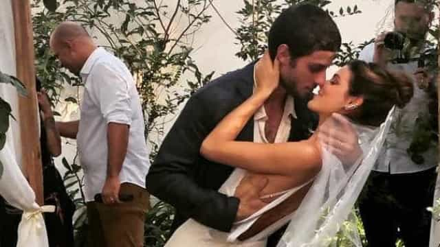 Chay Suede e Laura Neiva se casam após breve rompimento; veja vídeo