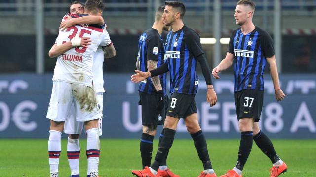 Inter de Milão perde do Bologna em casa e volta a tropeçar no Italiano