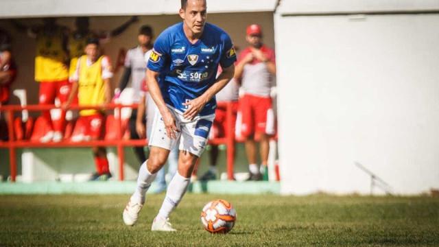 Rodriguinho reclama do calor, mas comemora estreia pelo Cruzeiro