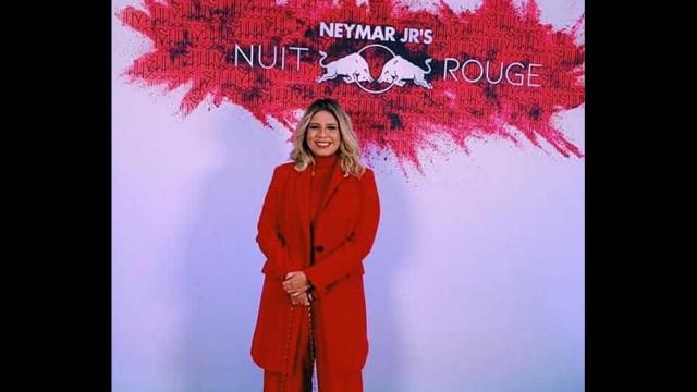 Marília Mendonça surpreende Neymar na festa de aniversário do craque