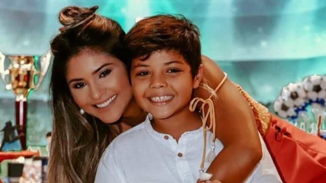 Ex de Safadão se pronuncia sobre ida de filho a festa de Neymar
