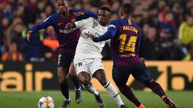 Barça e Real empatam em 1 a 1 no primeiro jogo da semi da Copa do Rei