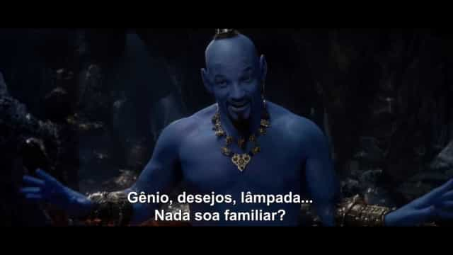 Disney lança teaser do live action de Aladdin com o 'gênio' Will Smith