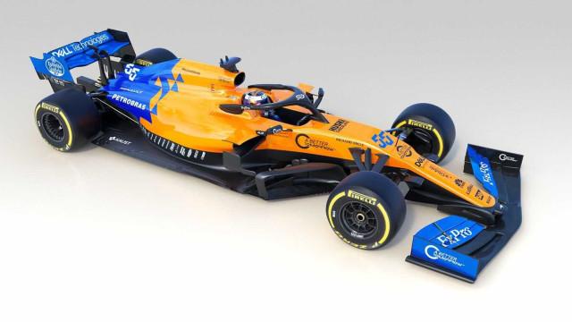 McLaren apresenta novo carro para temporada de 2019 da F1