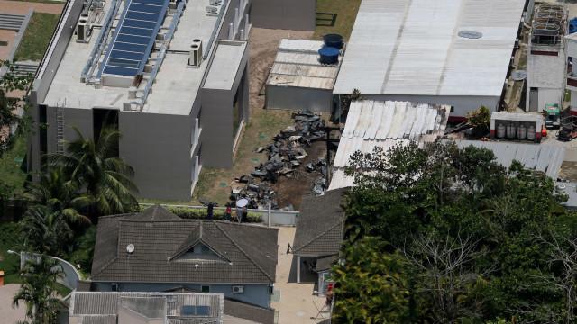 Após incêndio, Fla defende contêineres em CT: 'Alojamento confortável'