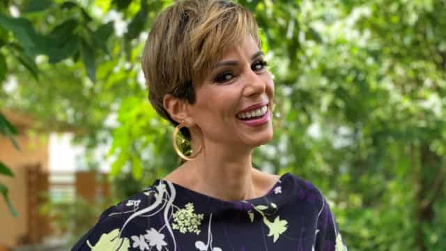 Ana Furtado faz 1ª aparição na TV de visual novo; veja como ficou