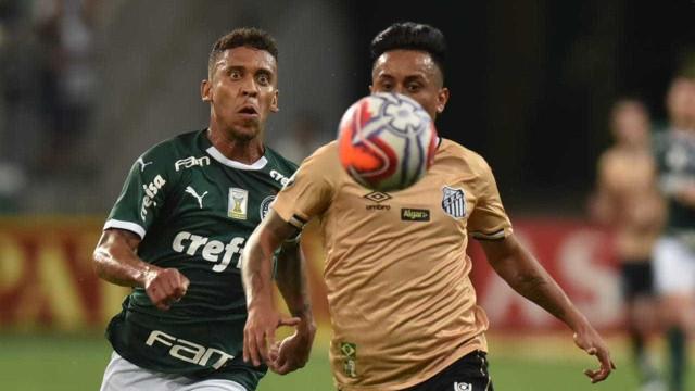 Palmeiras e Santos empatam sem gols e decepcionam no Allianz Parque