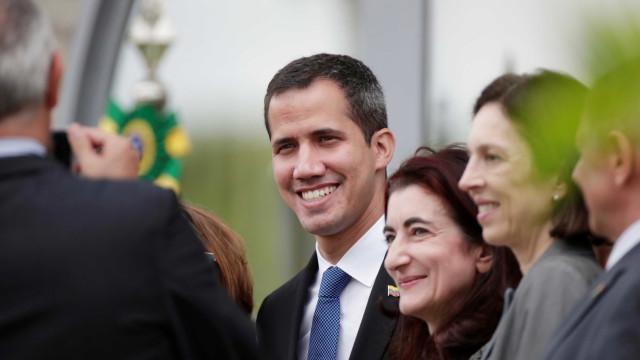 Em visita ao Brasil, Guaidó é recebido com estrutura de chefe de Estado