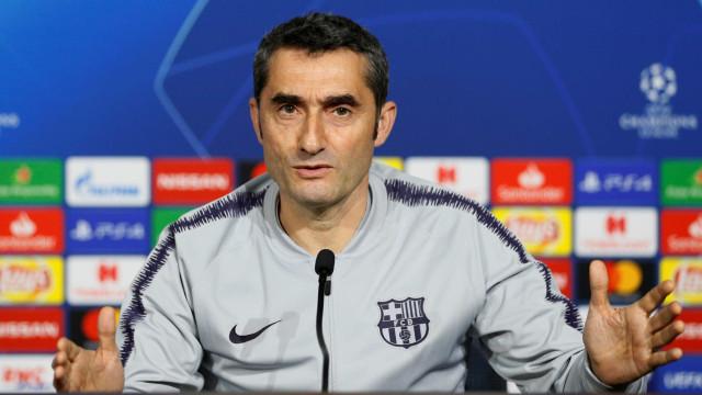 Valverde diz que Real 'quer tirar sabor amargo' e alerta Barça