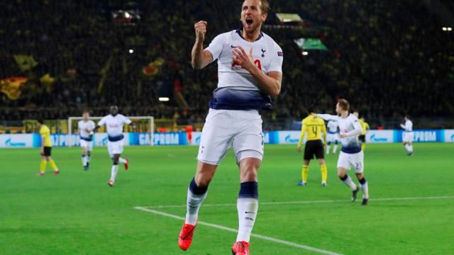 Tottenham vence Dortmund e confirma vaga nas quartas da Champions