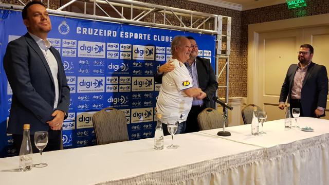 Cruzeiro apresenta novo patrocinador na véspera da estreia na Liberta