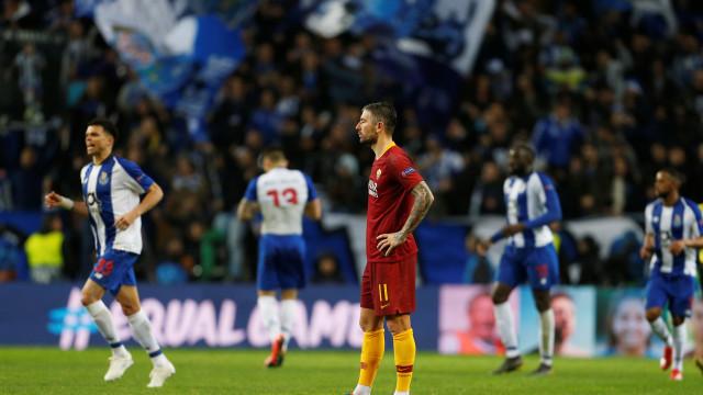 Porto marca no fim da prorrogação, elimina a Roma e avança