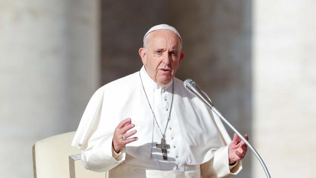Papa envia mensagem ao Brasil e dá conselho a políticos