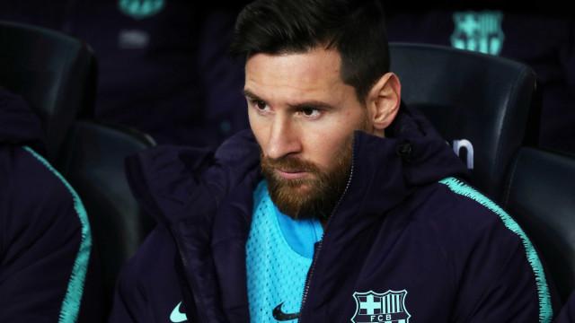 Presidente fala em preparar Barcelona para aposentadoria de Messi