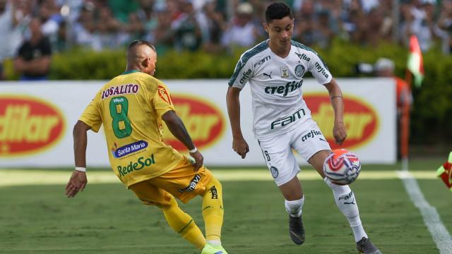 Palmeiras empata com o Mirassol e adia classificação às quartas