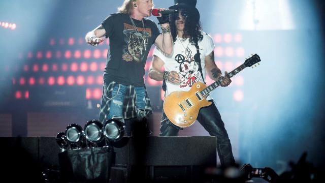 Guns N' Roses, Van Halen e Mötley Crüe ensaiam volta em turnê