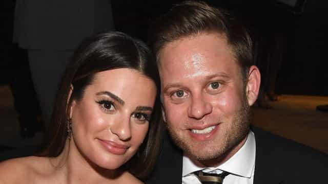 Atriz de Glee, Lea Michele se casa com Zandy Reich