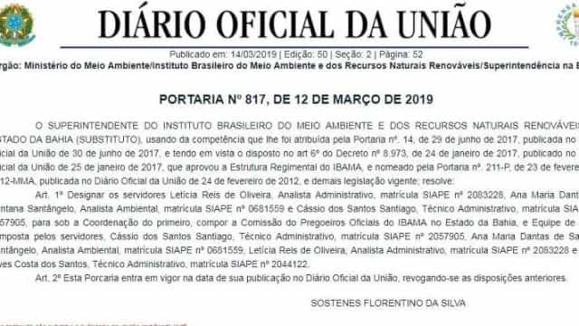 """'Esta porcaria entra em vigor"""", diz publicação no 'Diário Oficial'"""