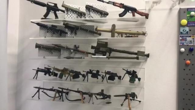 Acusado pelo assassinato de Marielle colecionava armas de brinquedo