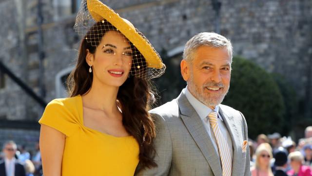 George Clooney diz que Meghan Markle tem sido perseguida e injustiçada
