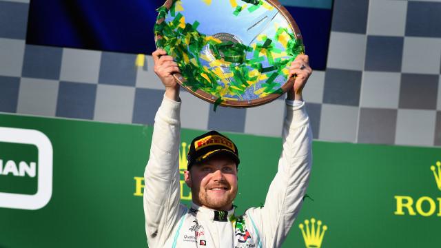 Bottas domina GP da Austrália e vence na abertura da temporada