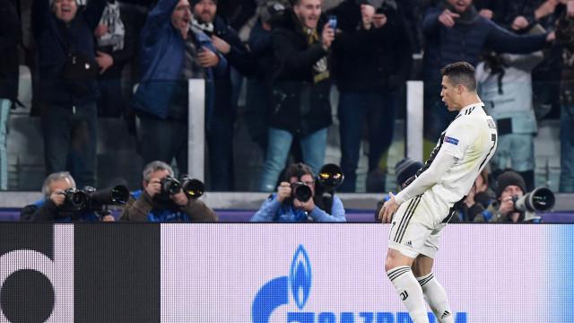 Uefa investiga Cristiano Ronaldo por gesto obsceno