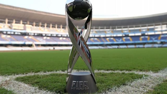Brasil sediará Copa do Mundo Sub-17