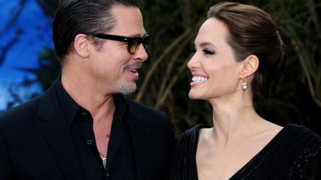 Brad Pitt não quer que Angelina Jolie leve os filhos a eventos
