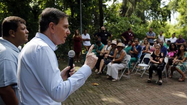 Em discurso, Crivella diz que Rio é 'uma esculhambação completa'