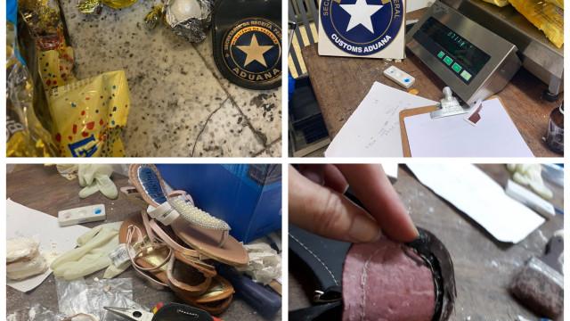 Receita Federal apreende mais de 27 kg de cocaína em Guarulhos