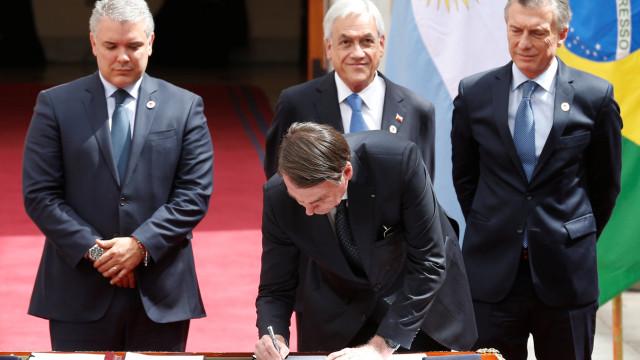 Líderes da América do Sul assinam acordo para criar Prosul; entenda