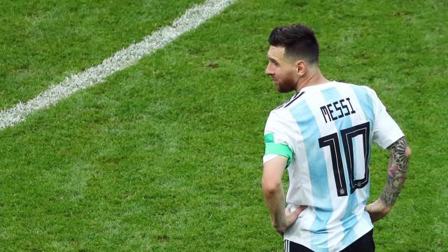 Federação Marroquina 'cobra' Argentina por ausência de Messi
