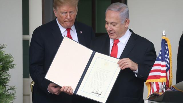 Netanyahu encurta viagem aos EUA após foguete atingir Tel Aviv