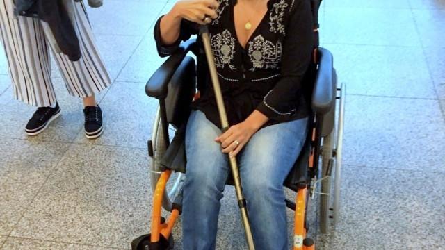 Claudia Rodrigues é transferida para UTI de hospital de SP