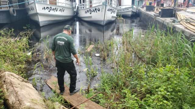 24 mil litros de óleo atingem o Rio Negro, em Manaus