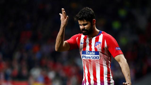 Simeone defende Diego Costa no Atlético: 'Confio até a morte nele'