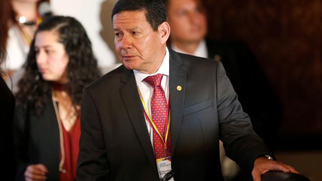 Mourão defende reforma da Previdência para recuperar confiança no país