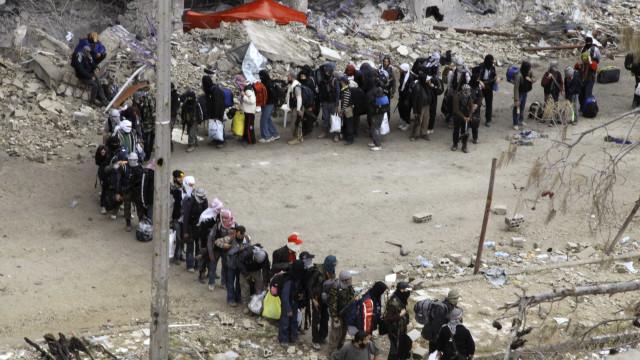Síria: inundações desalojam mais de 40 mil em campos de refugiados