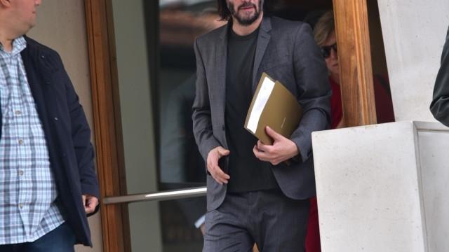 Keanu Reeves visita SP e se reúne com prefeito por produções na cidade