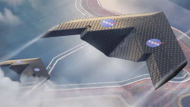 Nasa e MIT criaram uma asa de avião que muda de forma