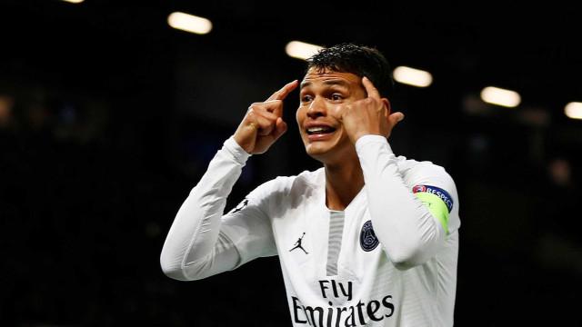 Thiago Silva torce para que Neymar permaneça no PSG