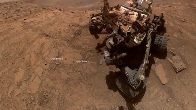 NASA compartilha nova selfie captada em Marte
