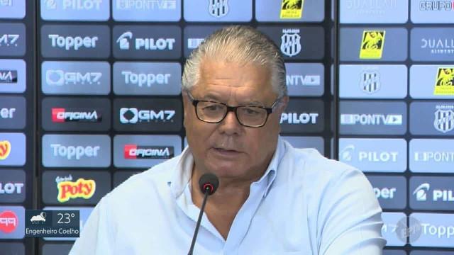 Presidente da Ponte Preta renuncia alegando problemas de saúde