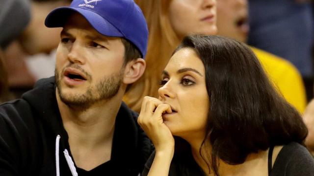 Ashton Kutcher e Mila Kunis revelam que não deixarão herança aos filhos