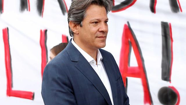 Lula agradece a Haddad por ter sido candidato à Presidência em 2018