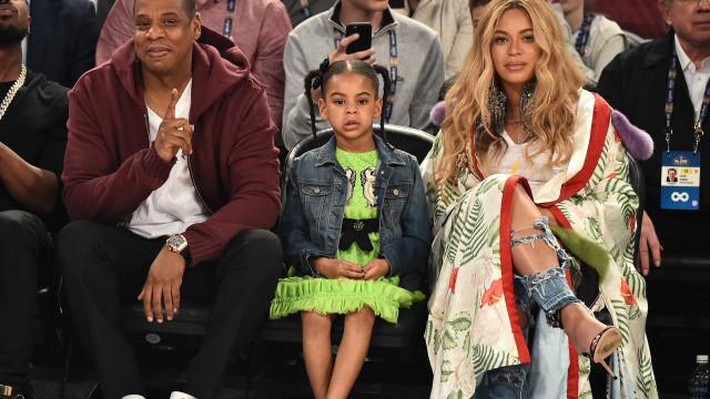 Filha de Beyoncé ganha primeiro prêmio como compositora aos sete anos