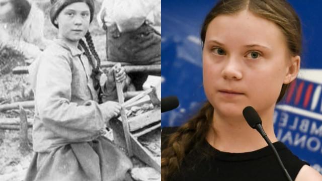 Internautas criam teoria da conspiração com sósia de Greta Thunberg