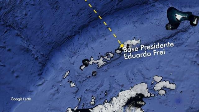 Avião das Forças Armadas do Chile com 38 pessoas a bordo desaparece