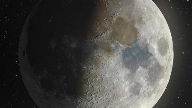 A melhor imagem da Lua foi criada com cem mil fotografias