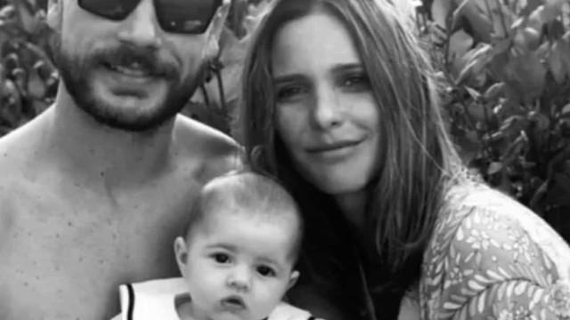Fernanda Lima mostra rostinho da filha pela primeira vez